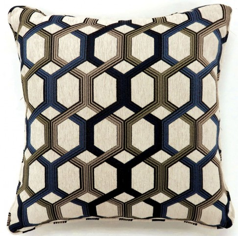 "Comney Blue 18"" Pillow Set of 2"