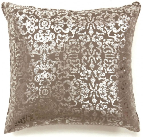 "Lia Beige 18"" Pillow Set of 2"