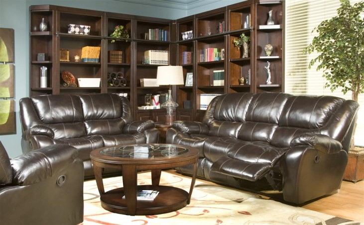 Hercules Blackberry Living Room Set