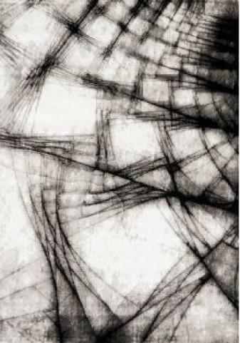 Platinum Grey Shatter Medium Rug