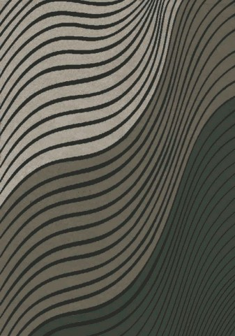 Platinum Purple/Beige Waves Medium Rug