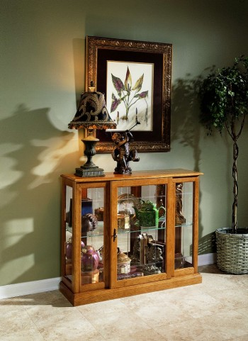 Golden Oak III Console