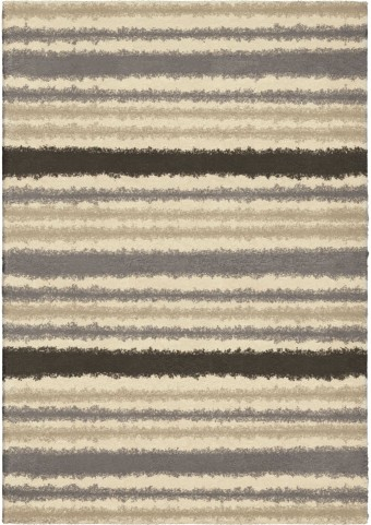 Orian Rugs Plush Stripes Petley Ivory Area Small Rug