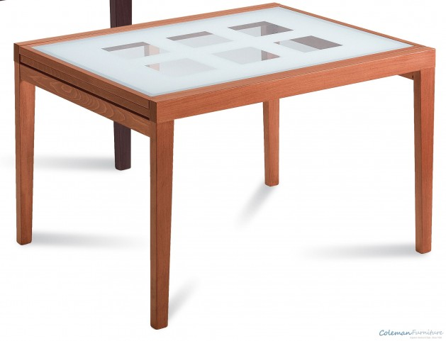 Poker Cherry Square Table