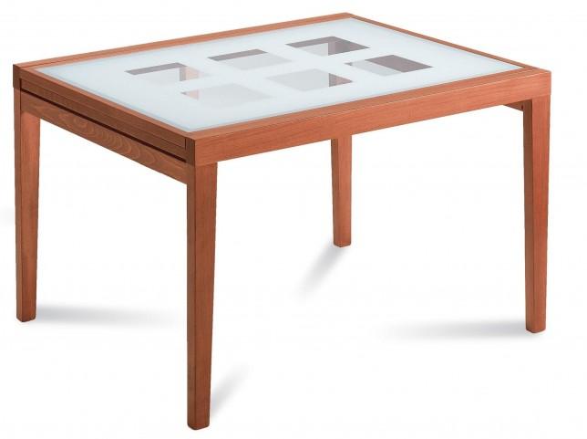 Poker Cherry Extendable Rectangular Table