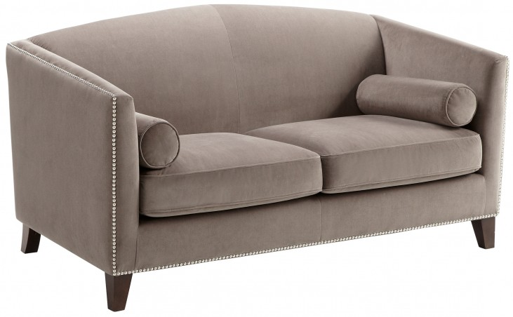 Portico Grey Loveseat