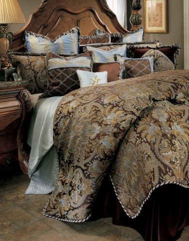 Portofino Queen Bedding Set (12pc)