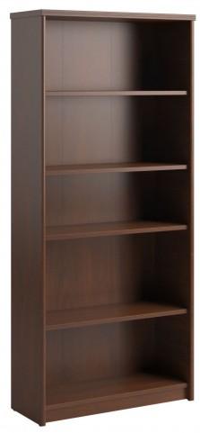 "Envoy Hansen Cherry 30""W 5-Shelf Bookcase"