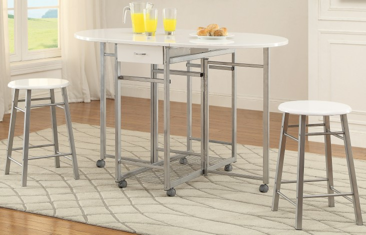 3 Pc Counter Height Dining Set