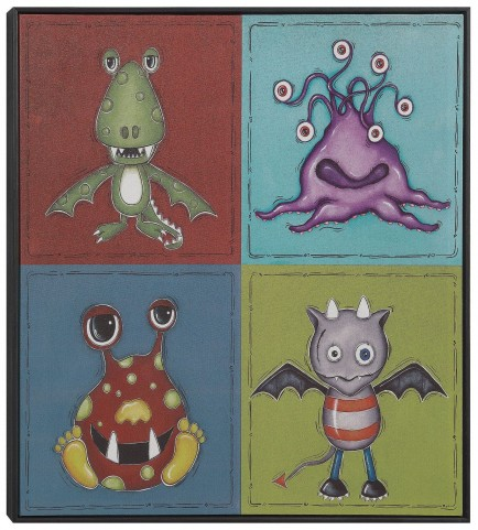 Imaginary Friends Wall Art With Frame