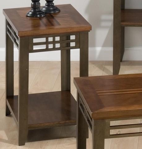 Barrington Cherry Chairside Table