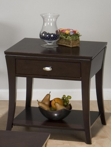 Manhattan Espresso End Table