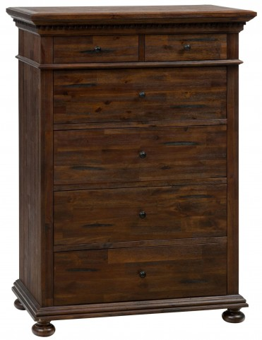 Geneva Hills Rustic Brown Chest