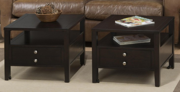 Hamilton Rich Dark Bunching Cocktail Table