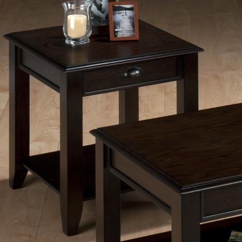 Bartley Oak End Table