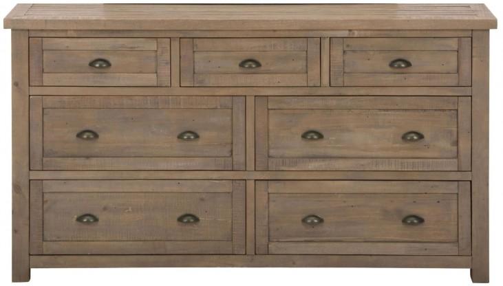 Slater Mill 7 Drawer Dresser
