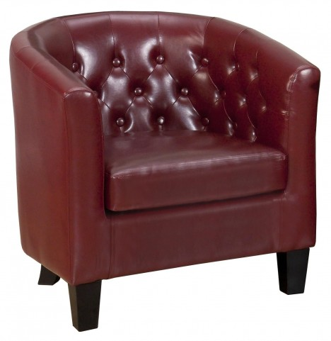 Gianni Red Club Chair