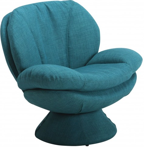 Comfort Rio Turquoise Fabric Leisure Chair