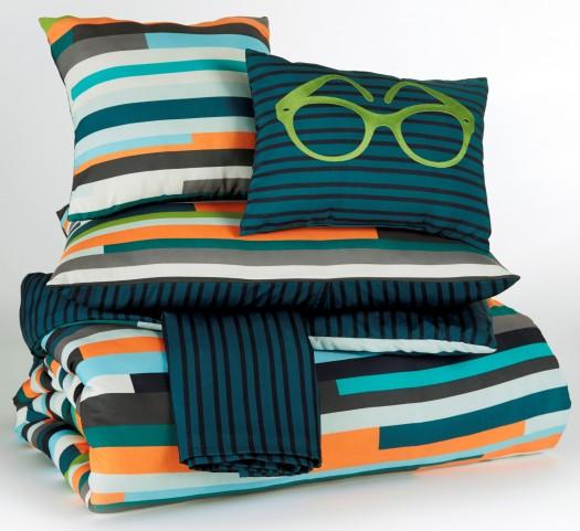 Seventy Stripe Full Size Bedding Set