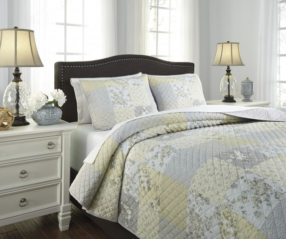 Damani Multi King Quilt Set