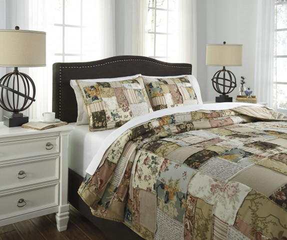 Damalis Multi Queen Quilt Set