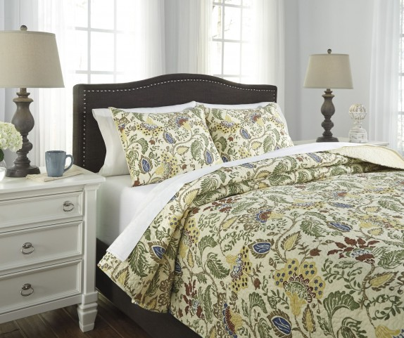 Damyan Multi King Coverlet Set