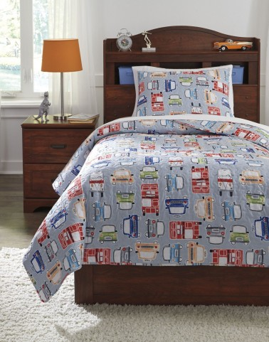 Beaverton Multi Twin Quilt Set