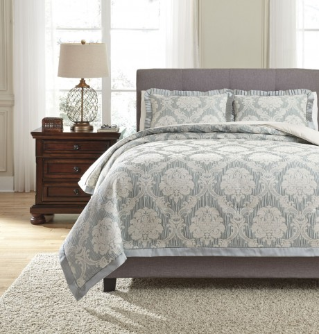 Joisse Sage King Comforter Set