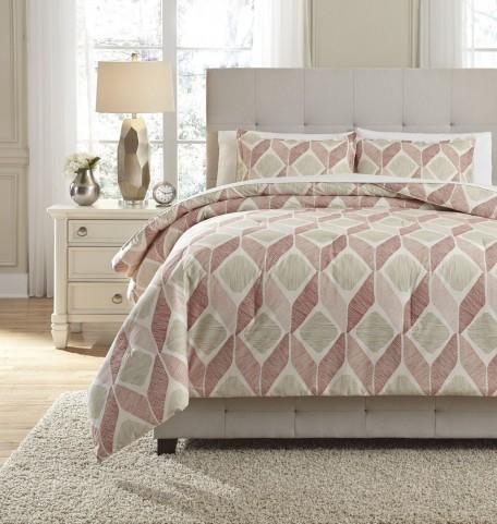 Amery Paprika King Comforter Set