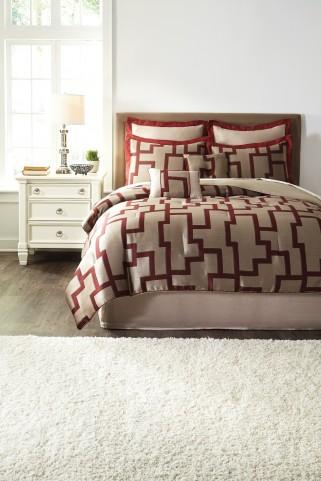 Aiza Wine Queen Comforter Set