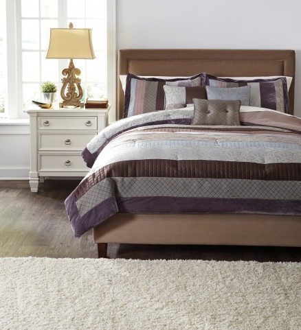 Kady Steel King Comforter Set