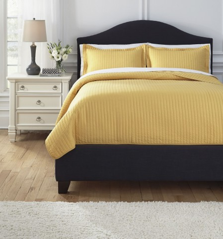 Raleda Yellow Queen Comforter Set
