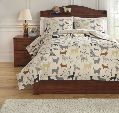 Howley Multi Full Duvet Cover Set
