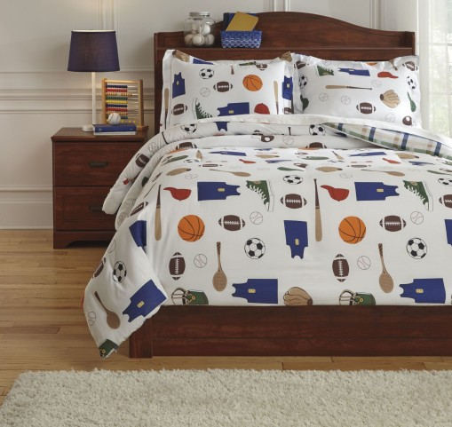 Varias Multi Full Comforter Set