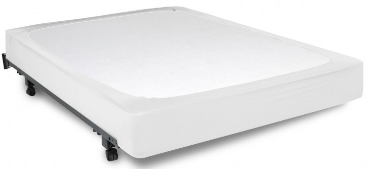 Stylewrap White Twin Box Spring Cover