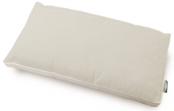 Clean Shield White Queen Deluxe Fiber Pillow