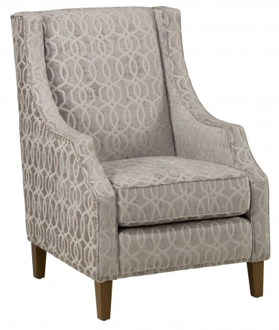 Quinn Dove Grey Accent Chair