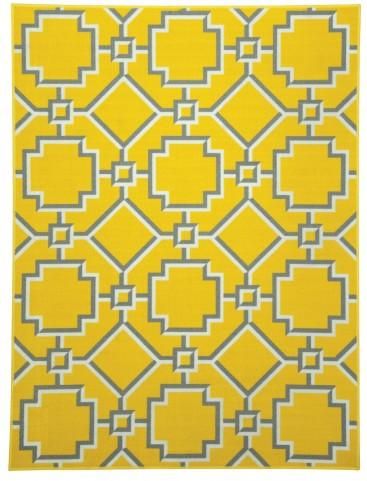 Zarek Yellow Medium Rug