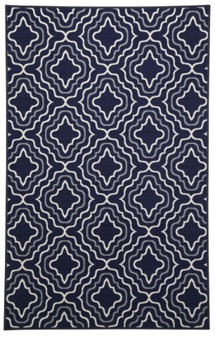 Nikalos Navy Medium Rug