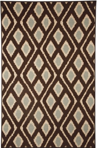 Abhay Blue and Beige Medium Rug