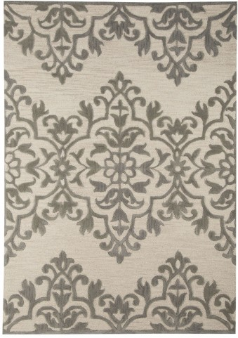 Bafferts Tan and Gray Large Rug