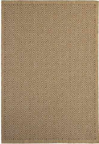 Frumpart Beige and Brown Medium Rug