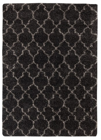 Gate Black Large Rug