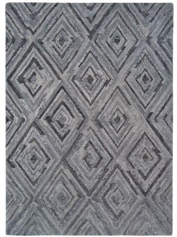 Woven Gray Medium Transitional Rug