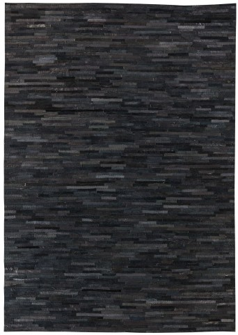 Cowhide Black Medium Rug