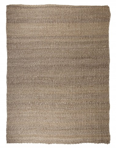 Textured Tan/White Large Rug