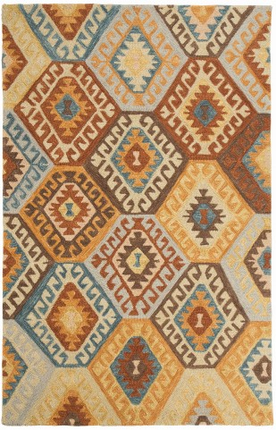 Calam1 Multi Large Rug