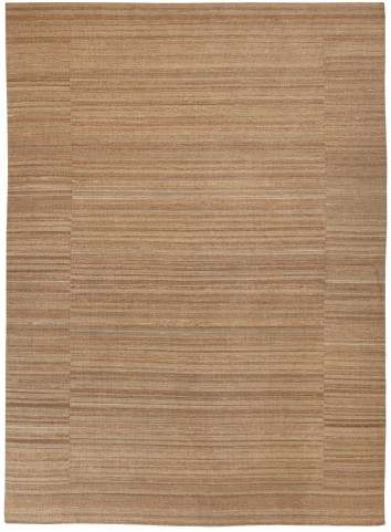 Flatweave Tan Large Rug