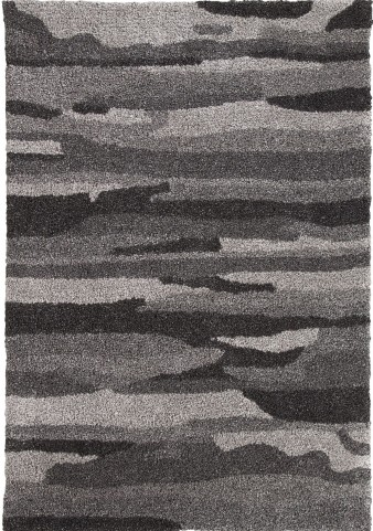 Pasternak Black and Gray Medium Rug