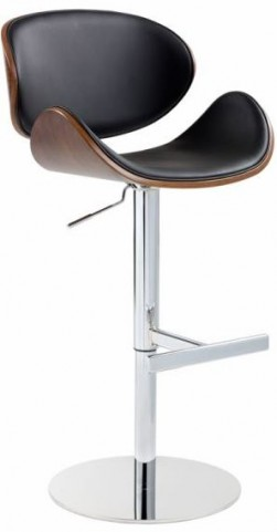 Bowen Onyx Adjustable Barstool